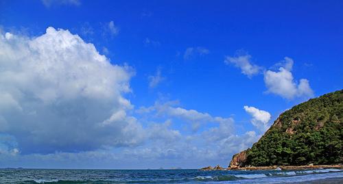 Sibu Island blue sky
